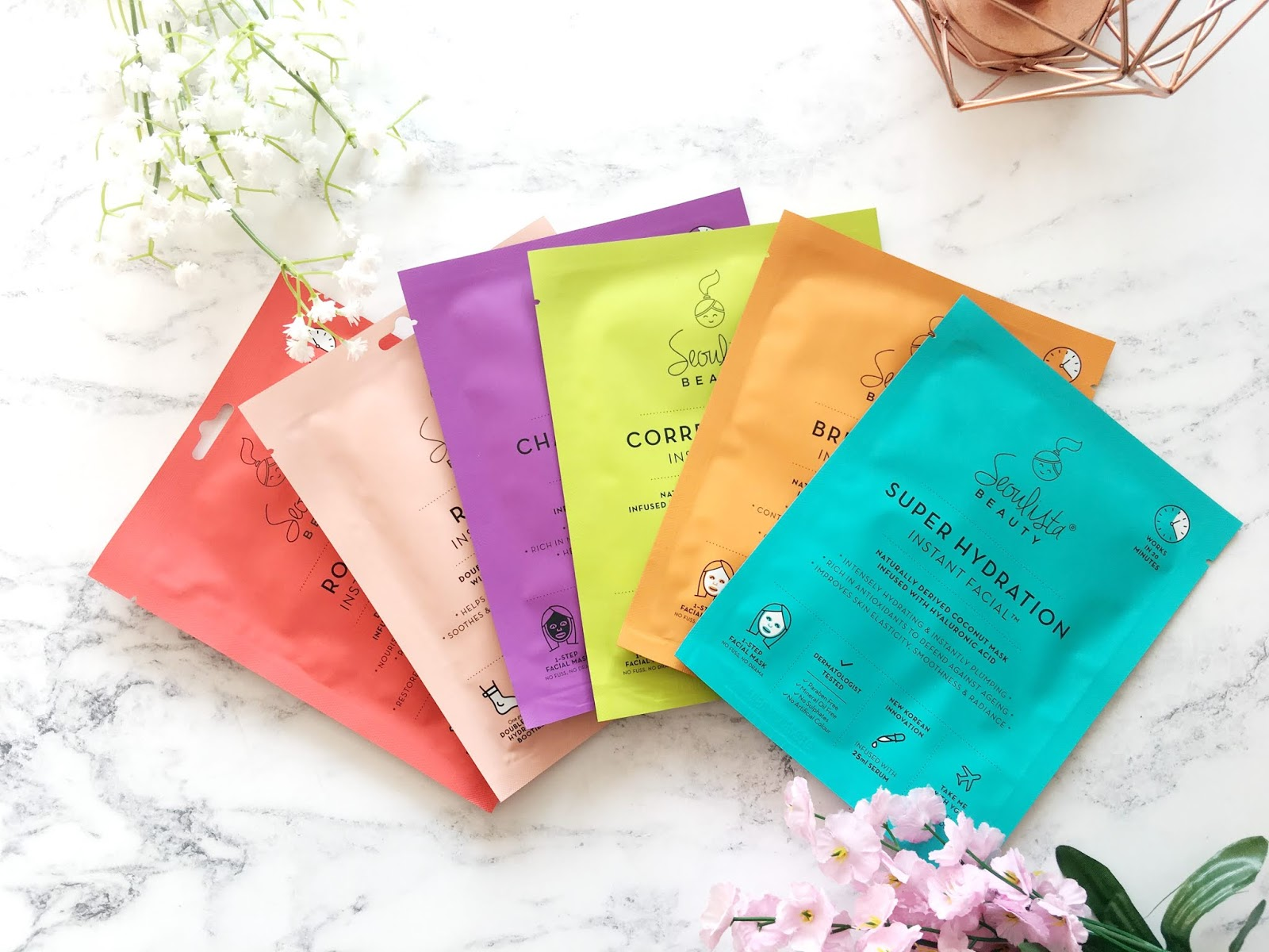 Seoulista Beauty Sheet Masks