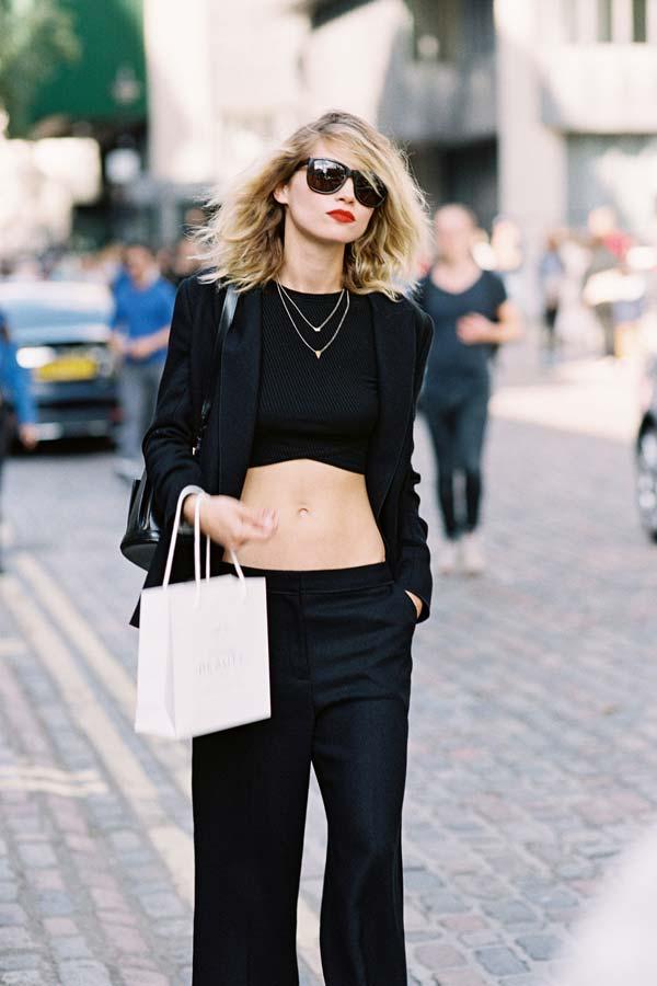 Vanessa Jackman London Fashion Week Ss 2016 Hana