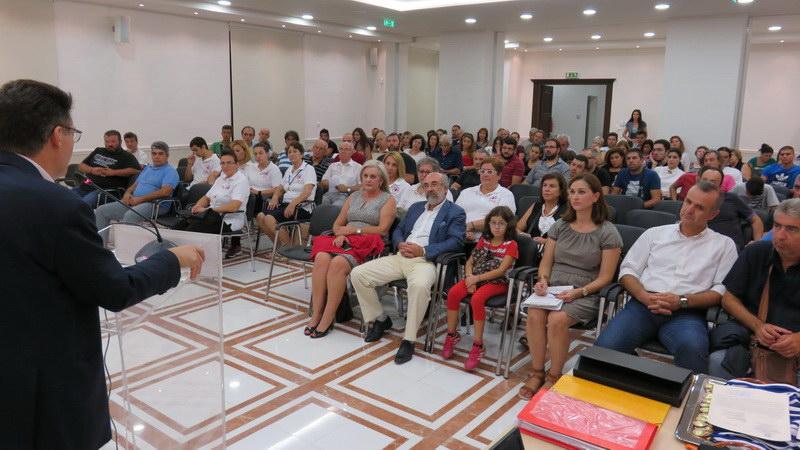 Η Π.Ε. Έβρου τίμησε τους εθελοντές του Via Egnatia Run