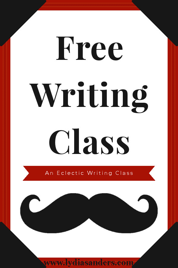 Free Writing Class | An Eclectic English Class Pinterest Graphic | Lydia Sanders