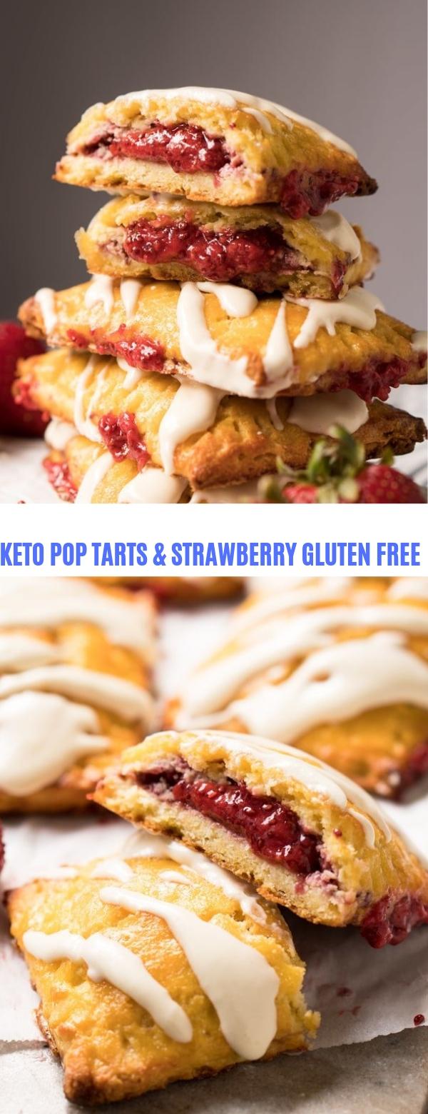 KETO POP TARTS & STRAWBERRY GLUTEN FREE