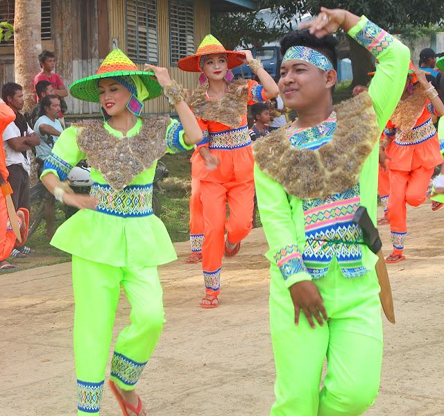 Koryn Iledan dances during the agal agal festival