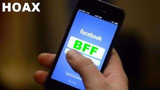 Ketik BFF untuk Mengetahui Facebook Aman itu Hoax!