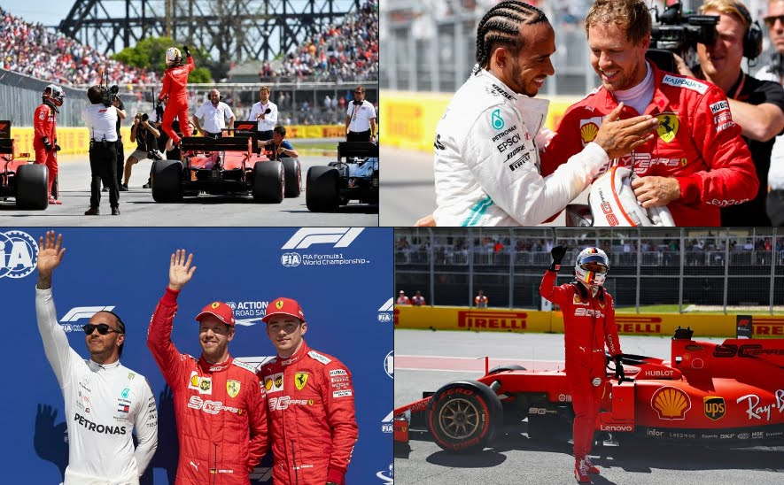 Rojadirecta F1 GP Canada 2019 Streaming Diretta TV, dove vedere partenza gara con Vettel Ferrari in pole position.