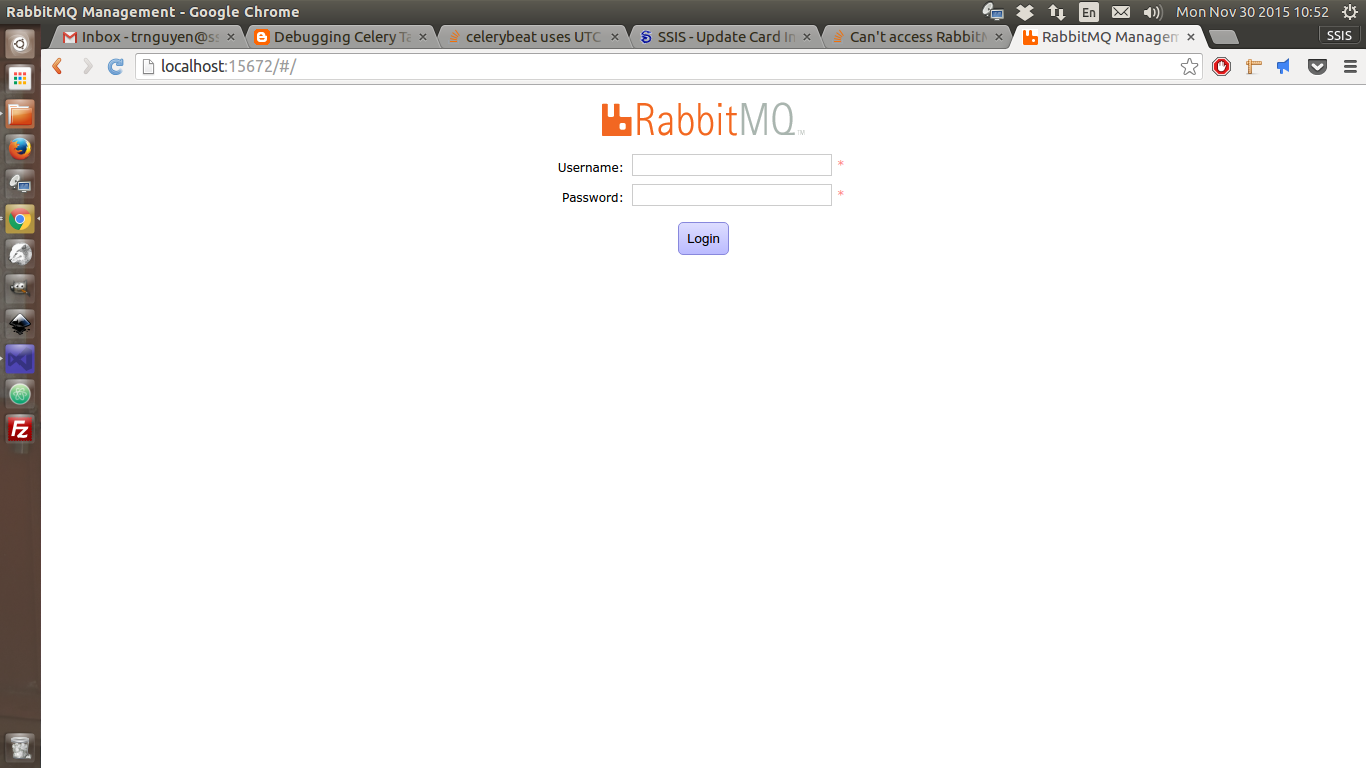 Manage your RabbitMQ message broker via the web interface