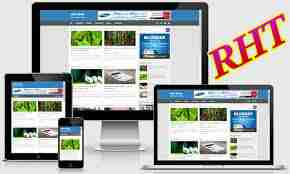 Seo ready responsive blogger template 7
