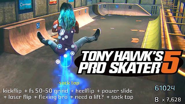 Tony Hawk's Pro Skater games offline