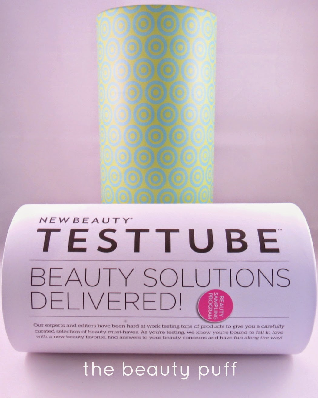 newbeauty testtube - the beauty puff