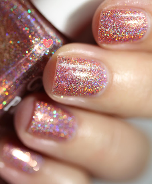 Glam Polish I Lava You swatch by Streets Ahead Style