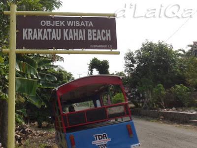 tanda lokasi di jalan