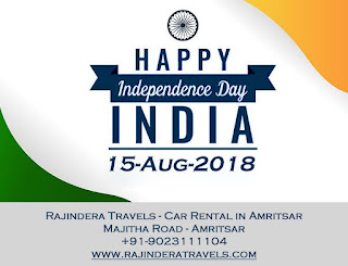 Independence Day - Rajindera Travels
