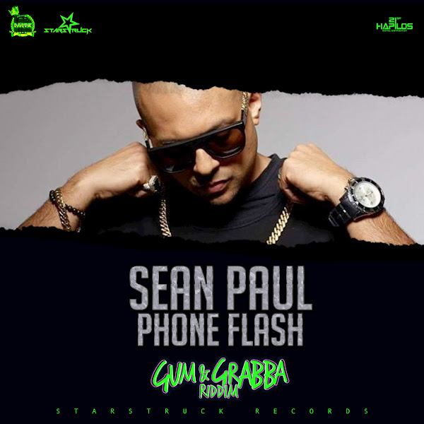 Sean Paul - Phone Flash - Single Cover