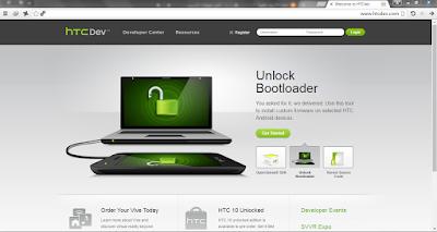 طريقة فك البوت لودر لجميع أجهزة HTC