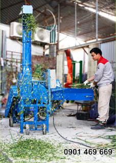 Máy băm cỏ 9Z.4C có năng suất băm được từ: 1 - 4 (Tấn/giờ)