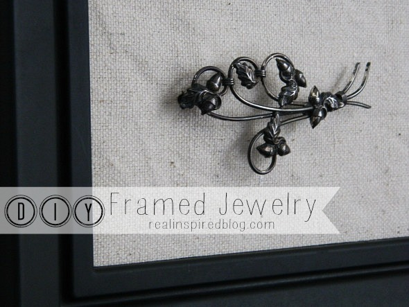 DIY Framed Jewelry {Revisited}