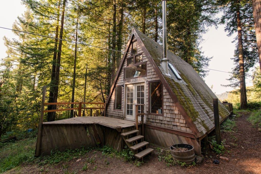 Cabin Call: California A-Frame Cabin