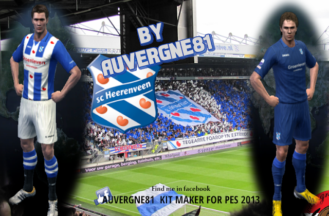 PES 2013 SC Heereveen GDB 2016/17 by Auvergne81