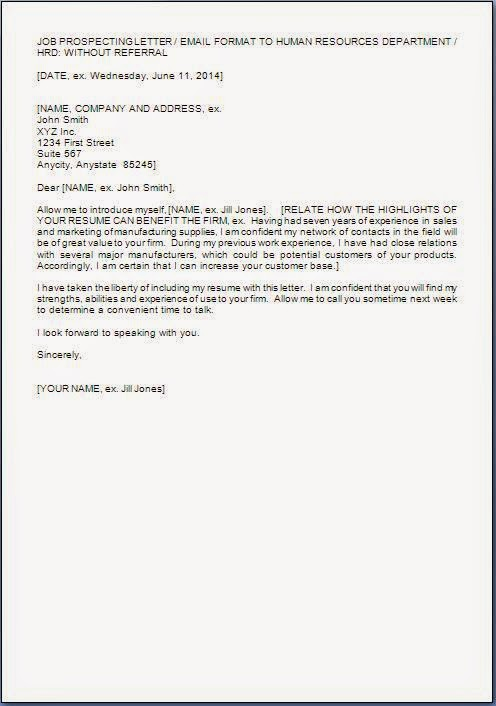 Job Application Letter Format Samples Examples Job Application Letter To Hr Manager