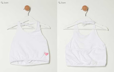 camiseta de tirantes blanca de Agatha Ruiz de la prada