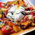 Peach Caprese Salad | Salata Caprese cu Piersici