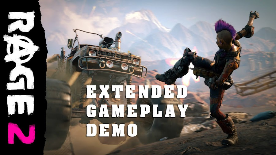 rage 2 extended demo gameplay