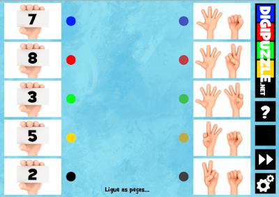 http://www.digipuzzle.net/digipuzzle/kids/puzzles/connectpieces_fingers_numbers.htm?language=portuguese&linkback=../../../pt/jogoseducativos/infantil/index.htm