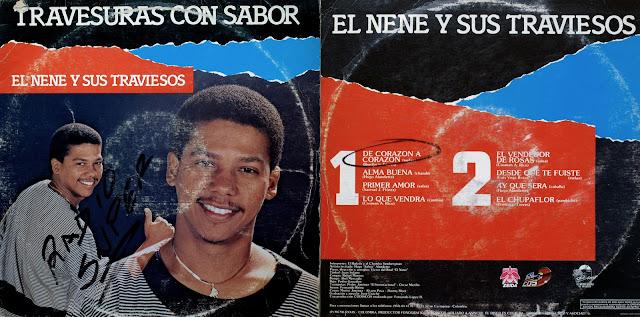 Canta Alberto Puello y El Chombo.