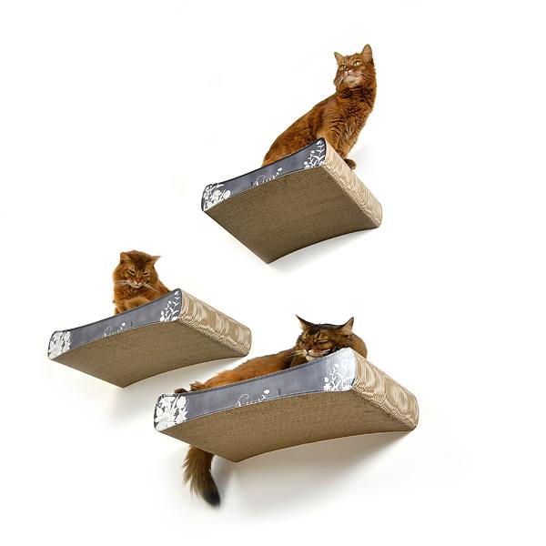 neu der wandkratzbaum vom kratzbaumhersteller cat on design kratzb ume und m bel f r katzen. Black Bedroom Furniture Sets. Home Design Ideas