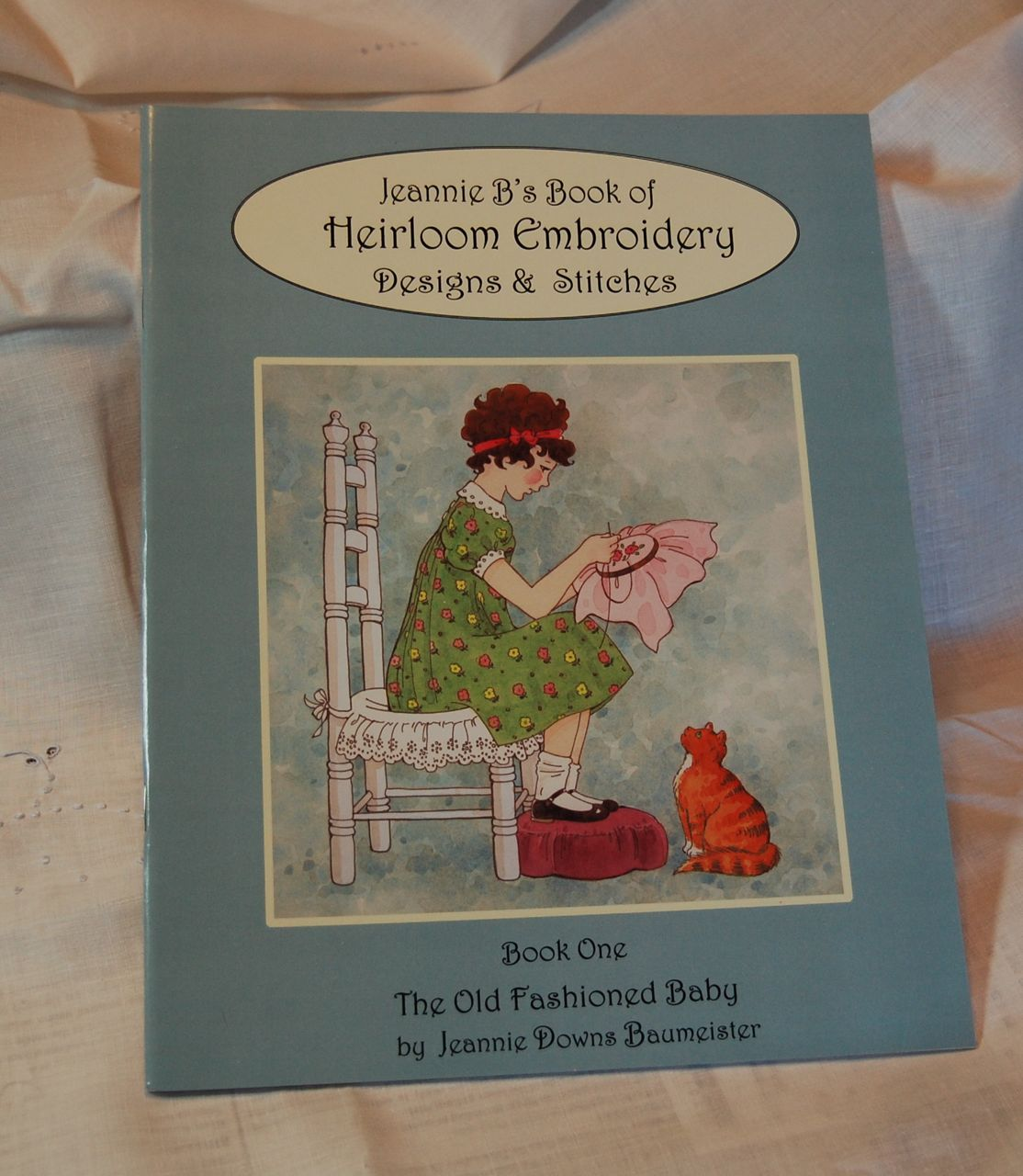 Jeannie B's Embroidery Book