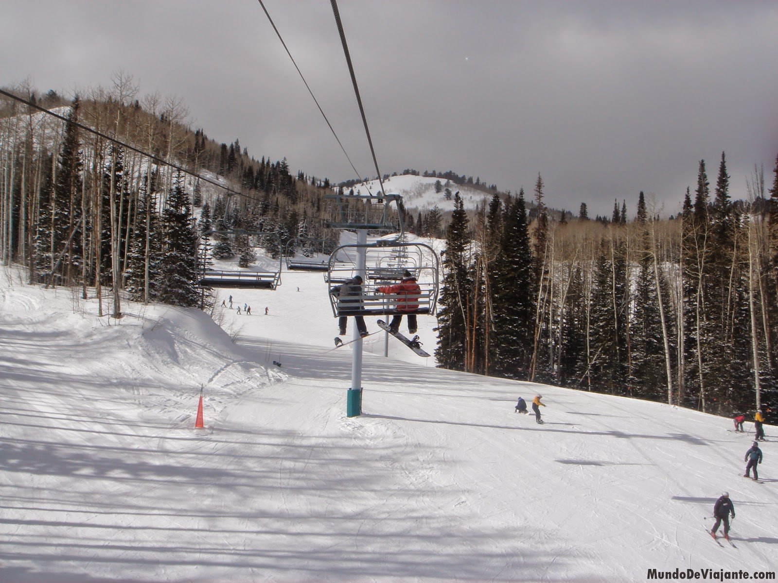viajar barato - Snowboard nos Estados Unidos