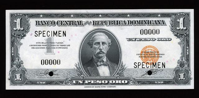 Dominican Peso Banknote