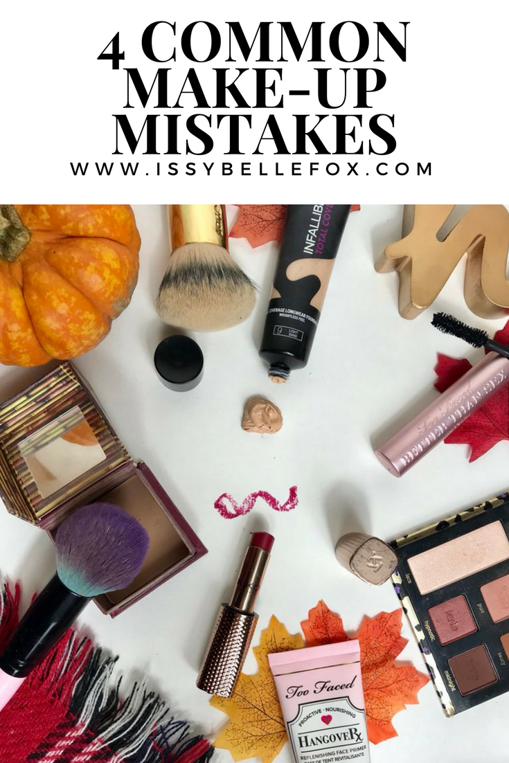 4 Make Up Mistakes