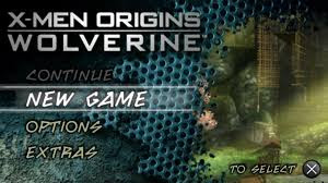 Game X-Men Origins Wolverine (USA) Android ISO PPSSPP + SaveData
