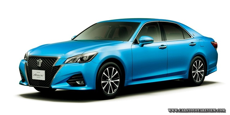 Toyota Crown 2017 Review