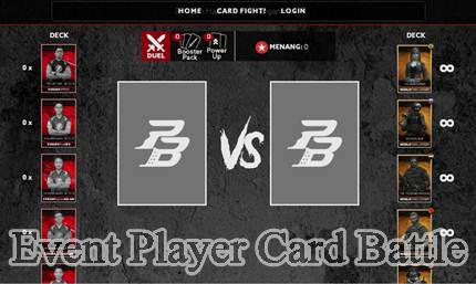 Cara Mengikuti Event Player Card Battle PB Garena