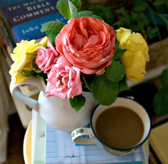 coffee and books