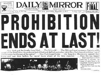 Repeal Day newspaper article image