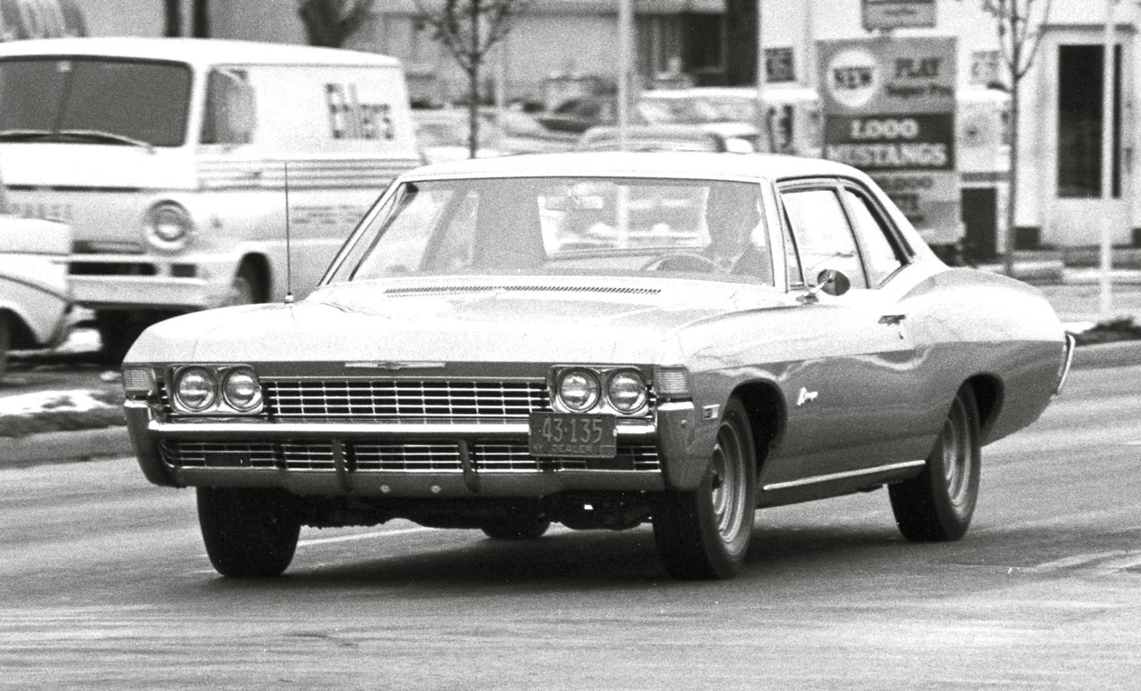CHEVY 427 BISCAYNE: STREET RACER'S SPECIAL!