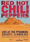 Live alle Piramidi di Giza - il 15 Marzo prima volta in Egitto per i Peppers