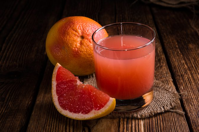 Grapefruit! A very delicious and healthy citrus
