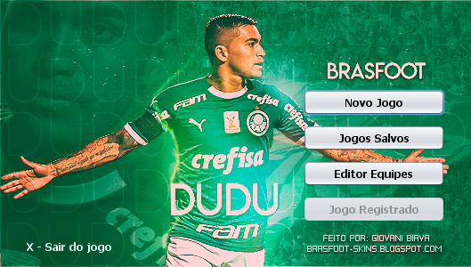 Skin Brasfoot 2019 - Dudu - Palmeiras