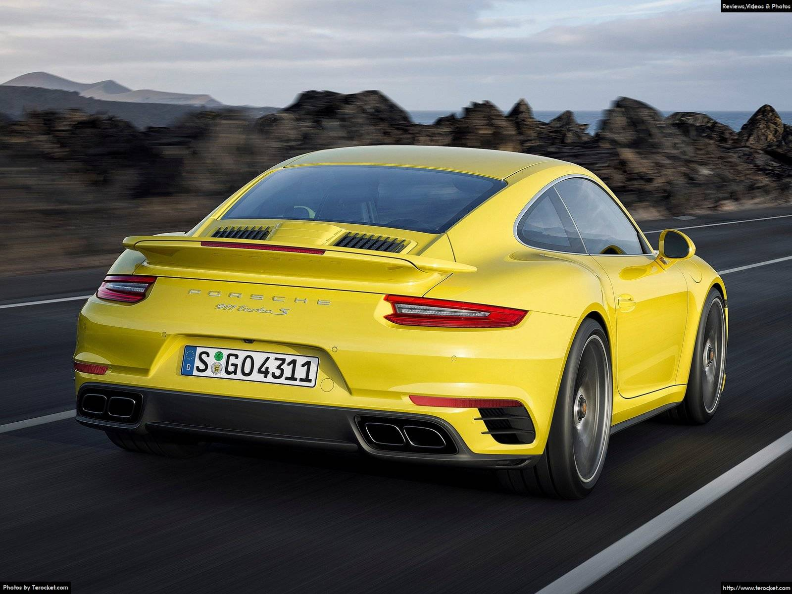Hình ảnh xe ô tô Porsche 911 Turbo S 2016 & nội ngoại thất