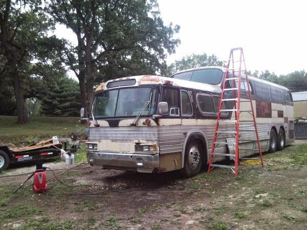 Used Rvs 1956 Gmc Scenicruiser Project For Sale By Owner