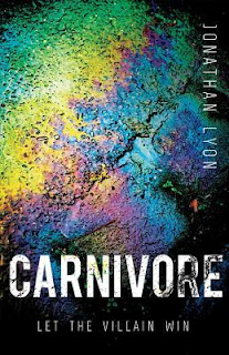 Carnivore by Jonathan Lyon - Reading, Writing, Booking