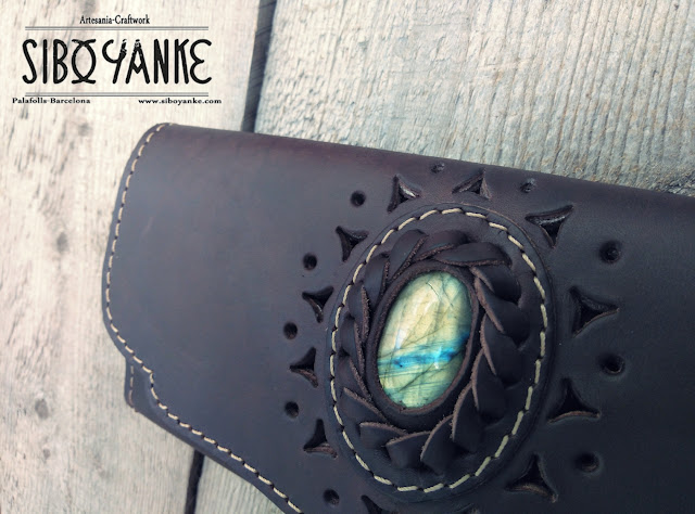 Leather wallet, purse, women, hip wallet, boho wallet, leather utility belt, festival belt