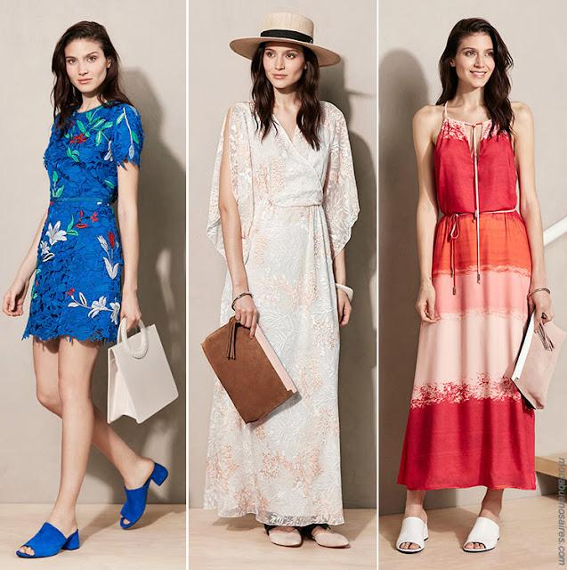 Moda primavera verano 2018 mujer argentina | Vestidos primavera verano 2018 colección Vitamina.