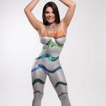 """Suzy Cortez, Se Desnuda Con El Símbolo De Los Juegos Olímpicos"""" De Río 2016 Foto 8"""