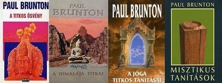 Paul Brunton könyvei