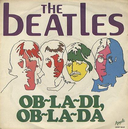 The Beatles Ob La Di Ob La Da Chords Lyrics Kunci Gitar