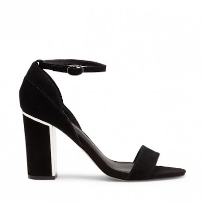 sole society black block heel sandal